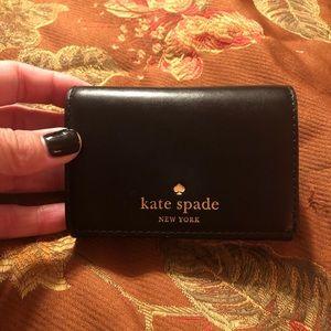 Kate Spade Carr Holder.  Black.